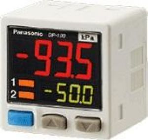 Dual Display Digital Pressure Sensor [For Gas] DP-100 Ver.2